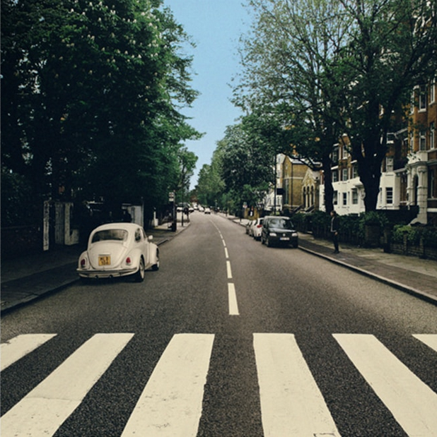 Beetles Abbey Road, reparked edition. ©Nord DBB