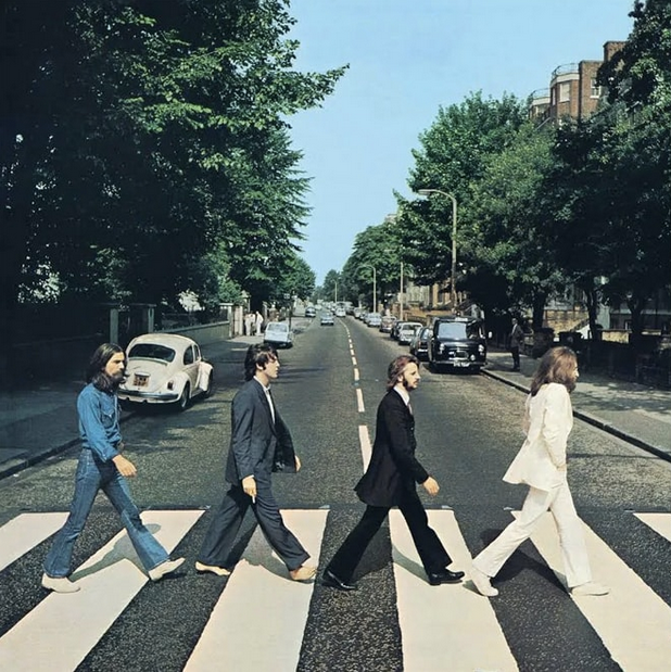 The Beatles Abbey Road, ©Apple Corps.